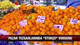 Pazar tezgahlarına 'stokçu' vurgunu - atv Ana Haber Video