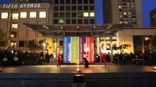 Poi Trio: 2014 Fire Dancing Expo Act 03: Portland Fire & Light