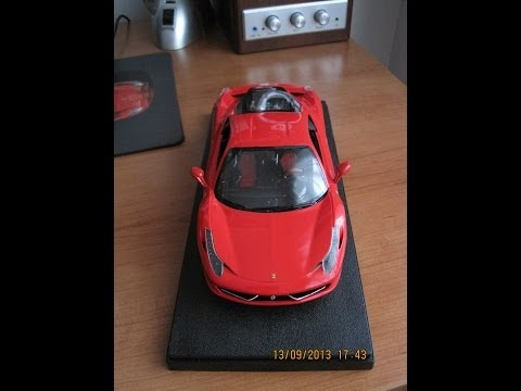 Revell Ferrari 458 Italia model kit 1/24