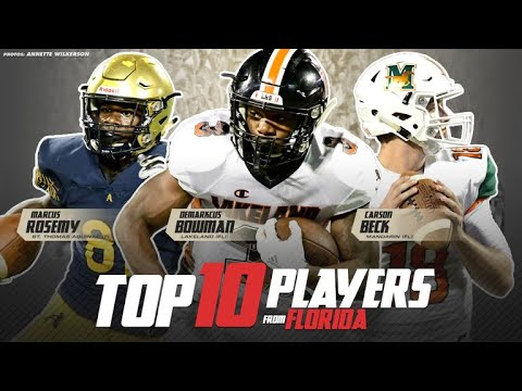 Top 10 Players From Florida