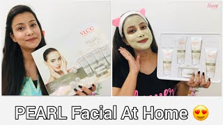 Download Lagu PEARL Facial At Home 😍 | Get Party Glow | VLCC Facial Kit | mp3