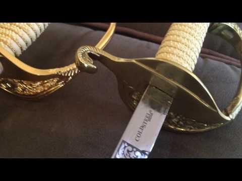 Naval Officer sword comparison