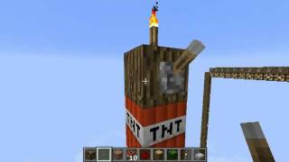 [HD] Minecraft: TNT with the new 256 top height.