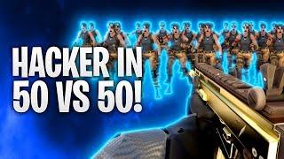 HACKERS IN 50 VS 50! 💀 | Fortnite: Battle Royale