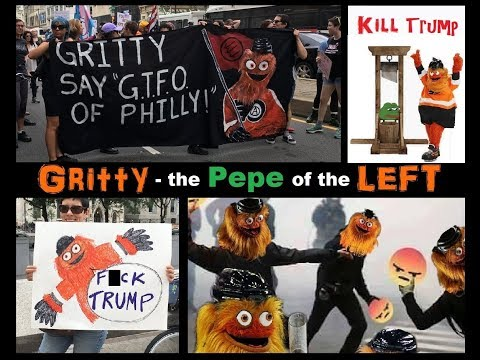 Gritty - the Pepe of the Left
