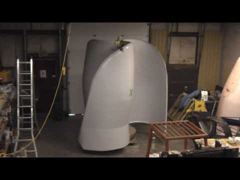 10kW Magnetically Levitated Vertical Axis Wind Turbine VAWT