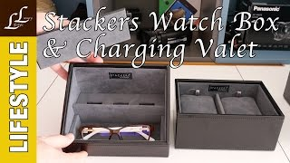 Stackers Watch Box & Valet Charging Station Review