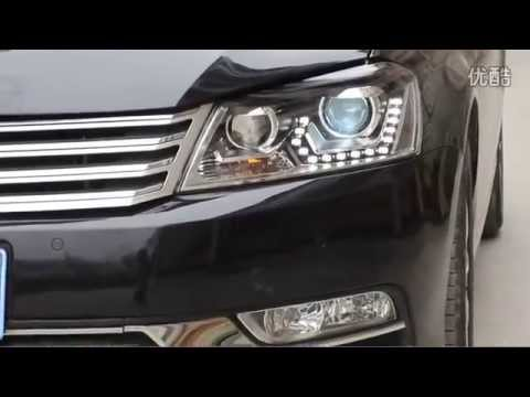 2012 2013 european vw passat b7 led drl headlight with. Black Bedroom Furniture Sets. Home Design Ideas