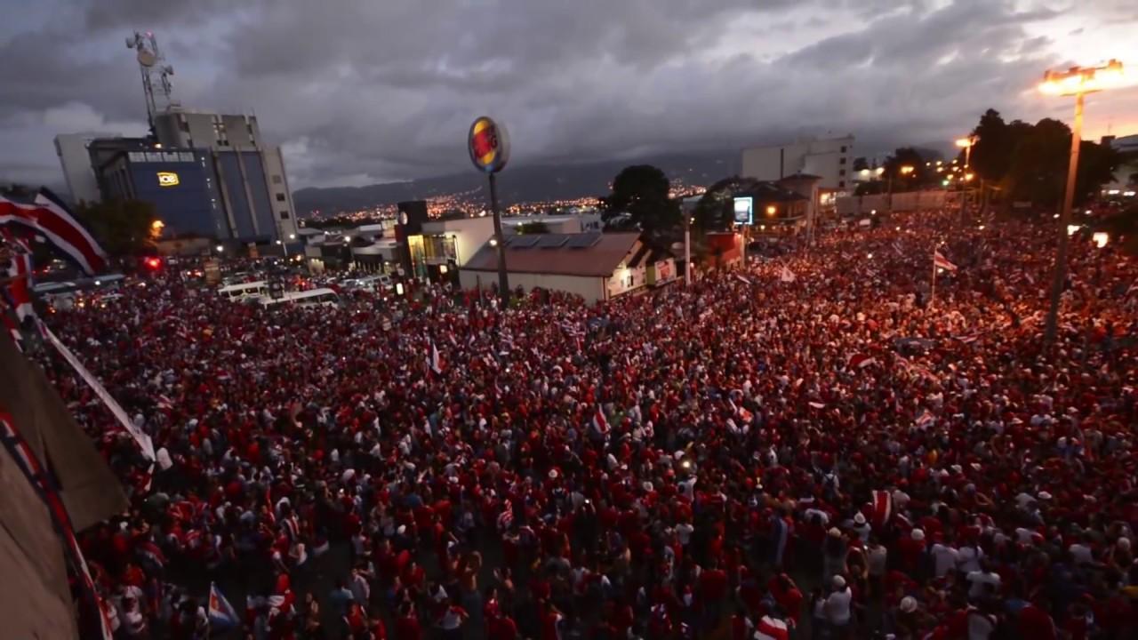 costa rica celebraci 243 n pase a 4tos de brasil 2014