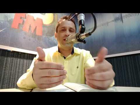Fabio Silva Ministrando na Rádio 93 FM