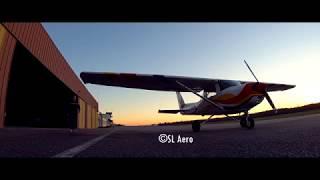 Cessna Flying Southwest of France | Gopro Hero 7 Black