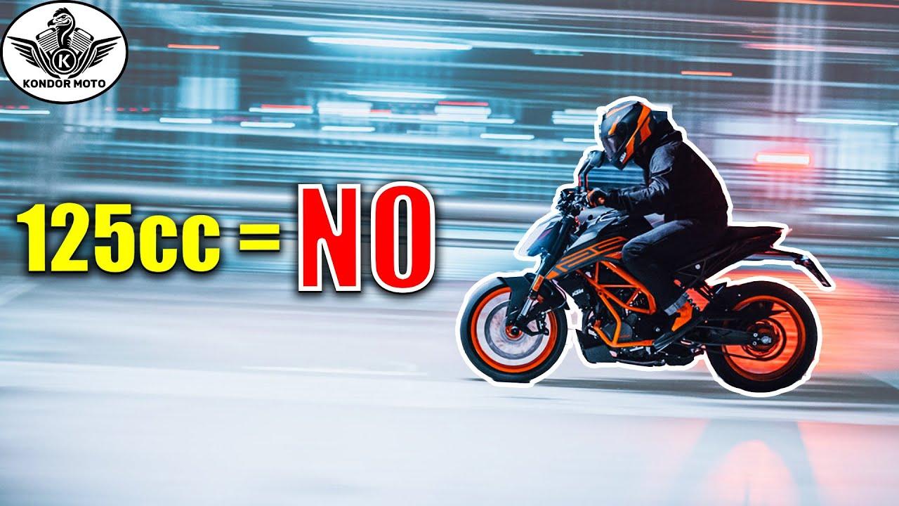 3 RAZONES por las que no hablo de las motos de 125cc