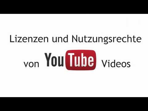 YouTube Lizenzen und Nutzungsrechte