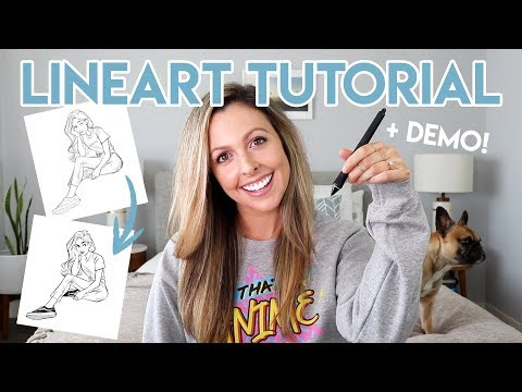 DIGITAL LINEART TUTORIAL - 7 TIPS FOR CLEAN LINEART