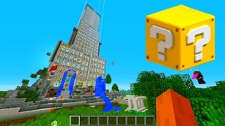 Minecraft Lucky Block TOWER #1 with Vikkstar, BajanCanadian & JeromeASF (Minecraft Lucky Block Mod)