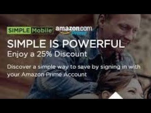 Amazon Partners Up With Simple Mobile to Offer Discounted Phone Plans to  Amazon Prime Members