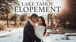 Lake Tahoe Elopement - Karleigh + Max [Shot on RED Scarlet-W]