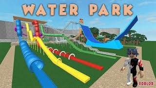 WE ARE RECORDING IN THE WATER PARK / WATER PARK / ROBLOX TURKISH / PRACTICAL GAME