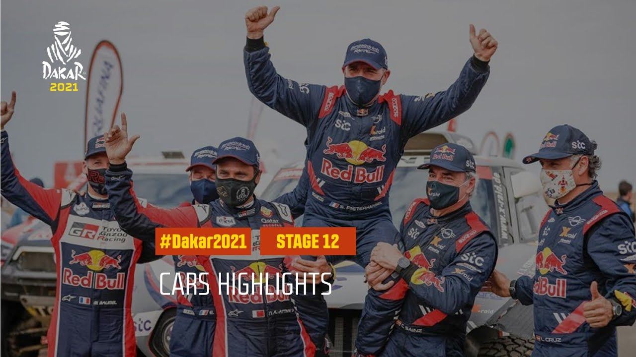 #DAKAR2021 - Stage 12 - Yanbu / Jeddah - Car Highlights