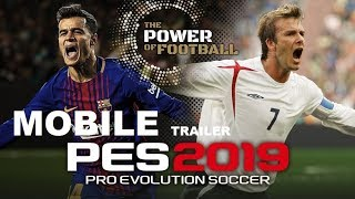 PES 2019 Android/iOS Trailer | Game Play | Skills | Pro Evolution Soccer 2019