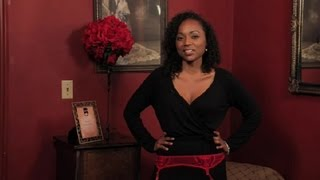 How to Put on a Garter Belt : Hosiery, Stockings & Tights