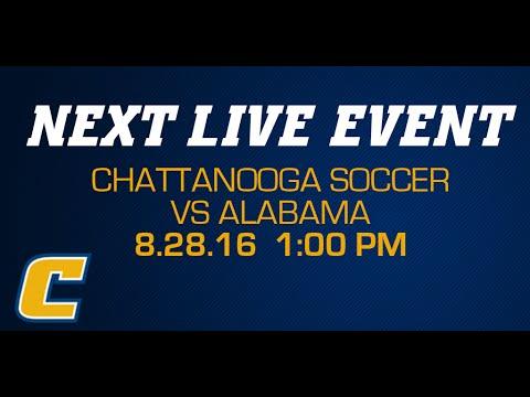 Chattanooga Soccer vs Alabama  - 8/28/16