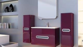 Видео обзор мебели для ванной комнаты Ювента серии Прато