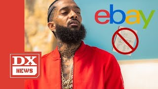 eBay Prohibiting Sale Of Nipsey Hussle Memorial Programs