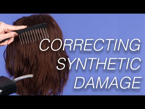 Correcting Synthetic Wig Damage | Wigs 101