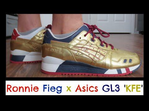 ronnie fieg gold asics gel lyte iii