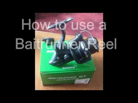 How To Use A Baitrunner Reel