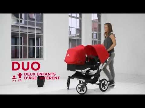 Poussette DONKEY DUO de BUGABOO - YouTube 00ef2f85cd8