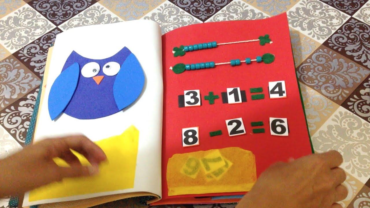 ... Livro Educativo Quiet Book em EVA e Feltro - DIY Artesanato - YouTube