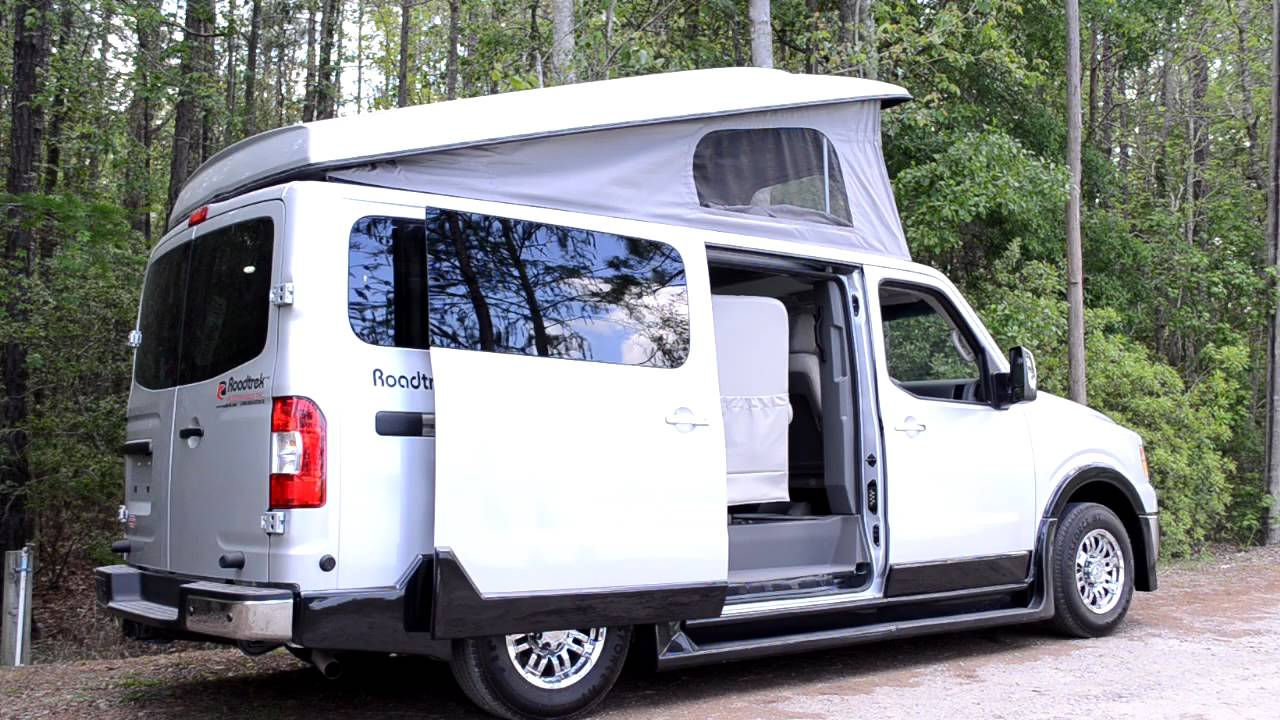 Nissan Nv 3500 >> Roadtrek N6 Active Van Video.mp4 - YouTube