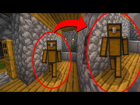 This Minecraft chest just attacked me.. (SCARY)