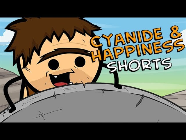 the-invention-cyanide-happiness-shorts
