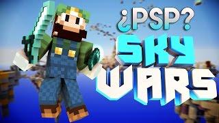 ¿Cómo sería SkyWars en Minecraft PSP? I luigi2498 I HD