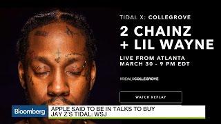 Apple Said to Be in Talks to Buy Jay Z's Tidal: WSJ