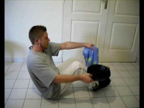 Musculation sans frais avec les objets de la maison 2e for Objets de la maison