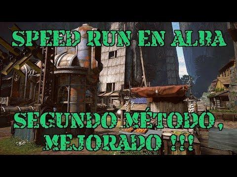 Speed Run Alba / Segundo Metodo
