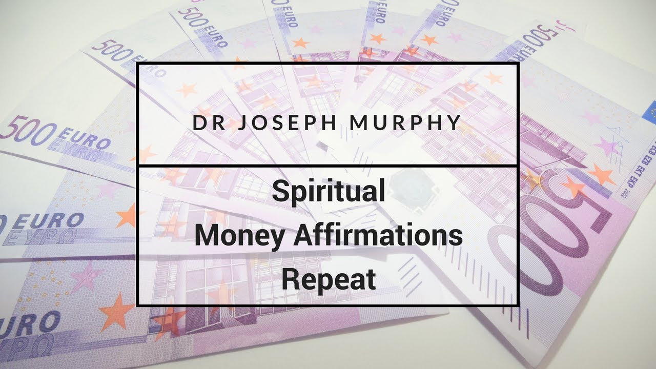 Joseph Murphy How To Attract Money Pdf