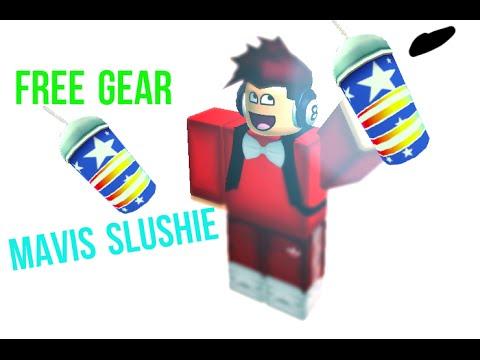 [ROBLOX] FREE GEAR How to get Mavis's Slushie