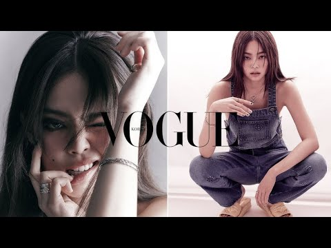 BLACKPINK's Jennie Makes Her Debut As A Fashion Editor For Vogue Korea—And She's Breathtaking