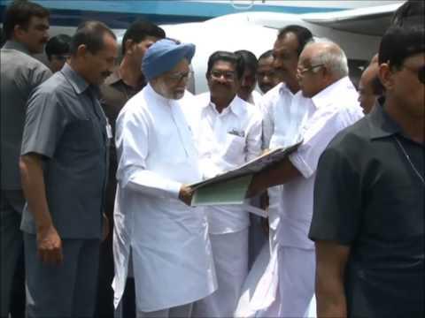 Prime Minister Manmohan Singh visit Kochi,Kerala