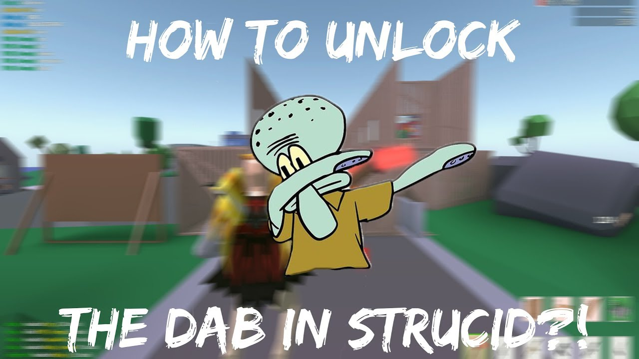 HOW TO UNLOCK THE DAB IN STRUCID....(Strucid Gameplay ...