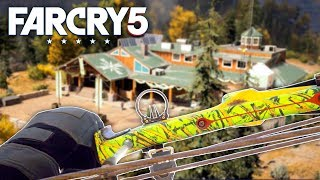 Far Cry 5 Free Roam - STEALTH OUTPOST LIBERATION (Far Cry 5 Gameplay) #2
