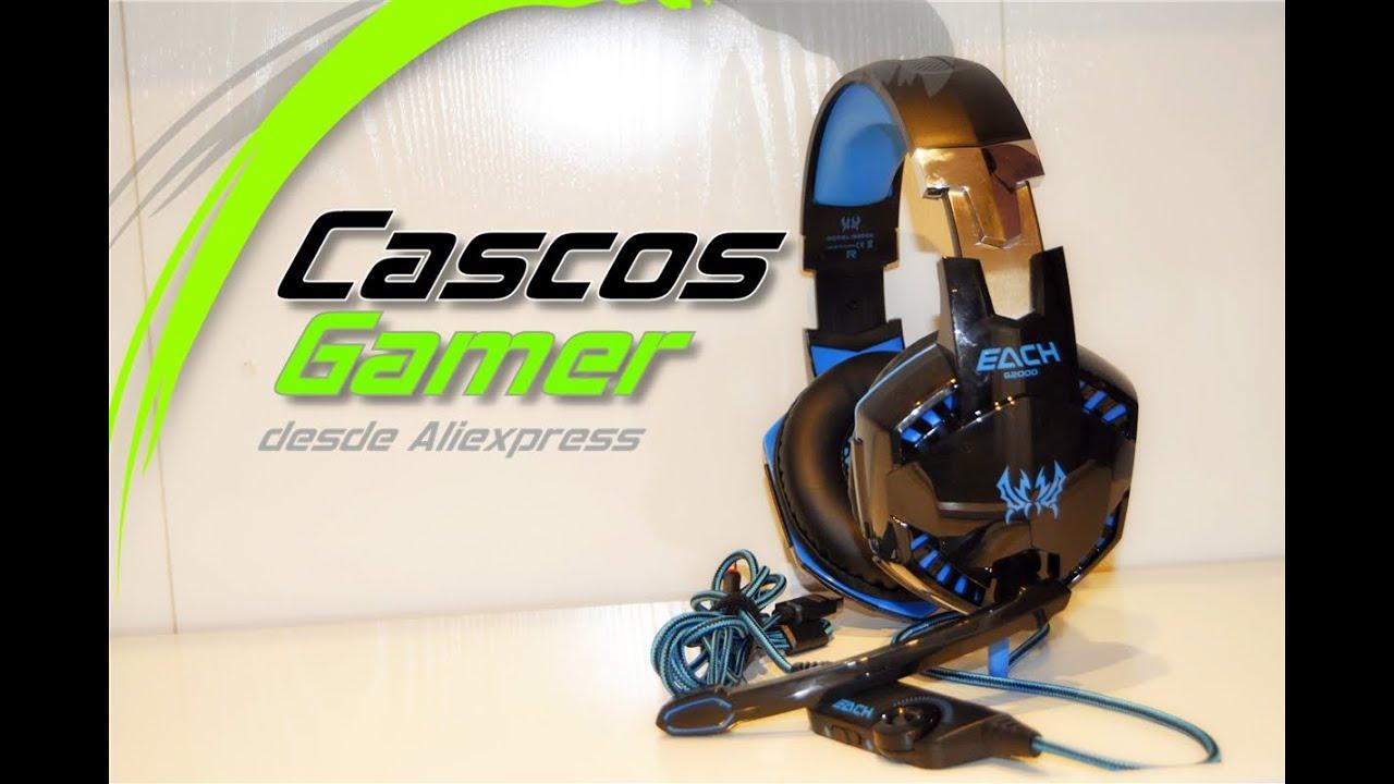 Auriculares Gamer desde Aliexpress