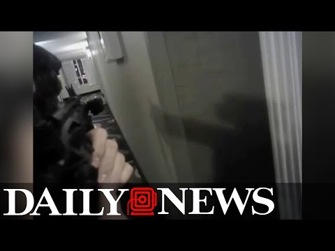 Body-cam footage Moments before police shooting of Daniel Shaver