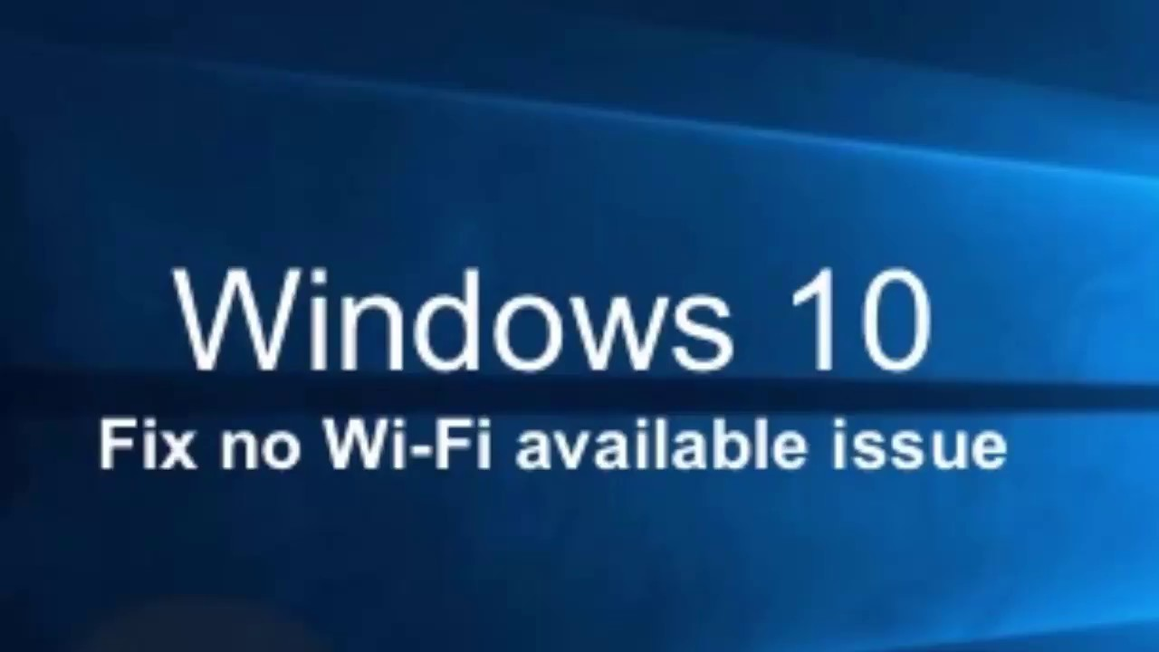 How to fix wifi wont turn on laptop windows 8.1