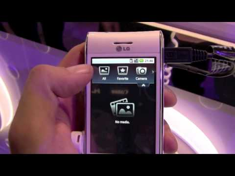 LG GT540 Android Phone - Hands-On